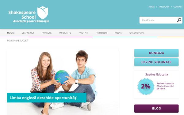Printscreen Asociatia pentru Educatie