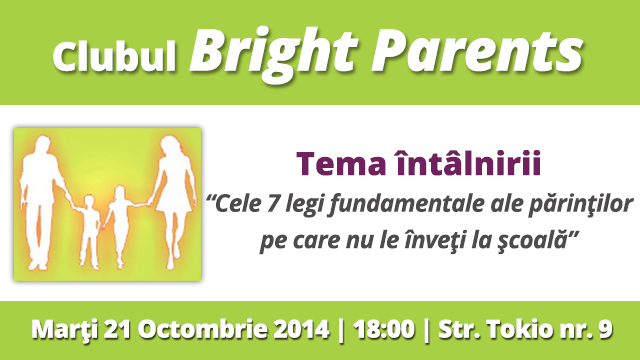 Imagine Club Bright Parents 21 Octombrie Shakespeare School