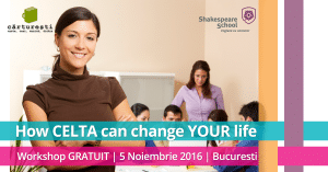 Workshop gratuit CELTA