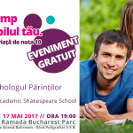 Eveniment GRATUIT de parenting 17 mai 2017